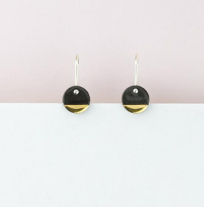 Erin Lightfoot Black Spots Earrings