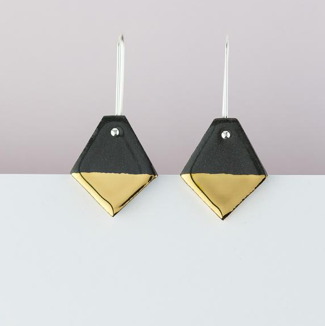 Erin Lightfoot Black Diamond Earrings