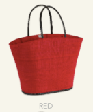 Le Panier Noosa Basket-Red