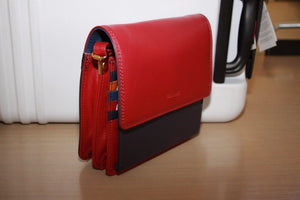 Gianotti leather sling bag - Fuchsia and multi colour