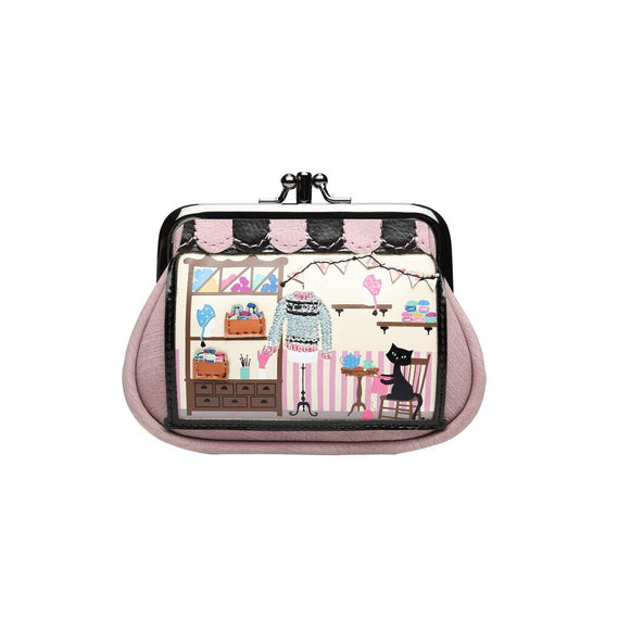 Vendula Wool Shop Clipper purse