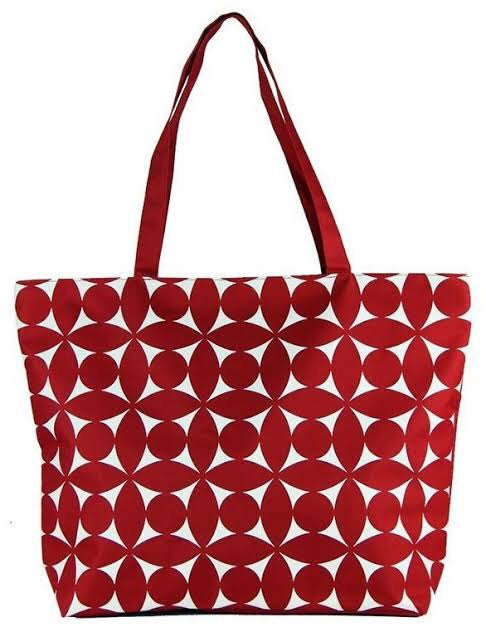 Condura Beach Bag -Red