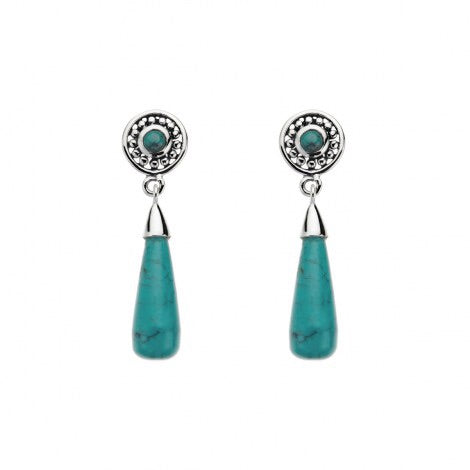 Najo morning sunrise earrings -Turquoise