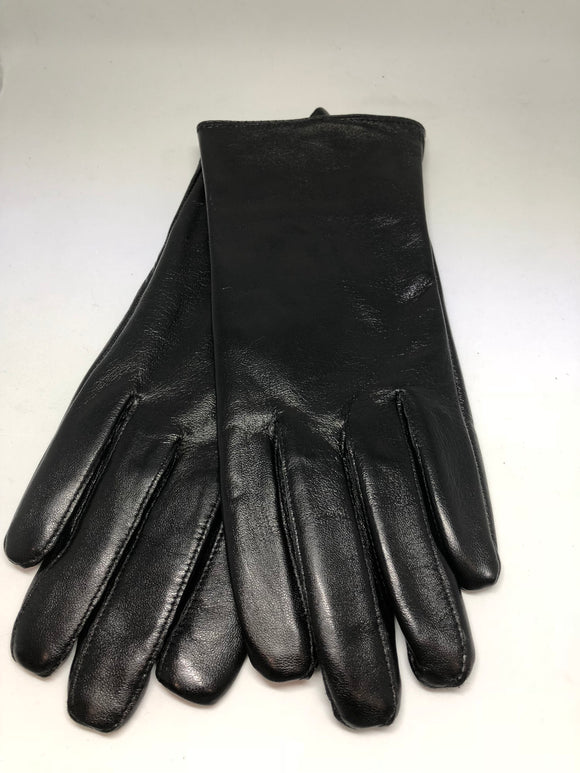 Jendi Leather Gloves - Black
