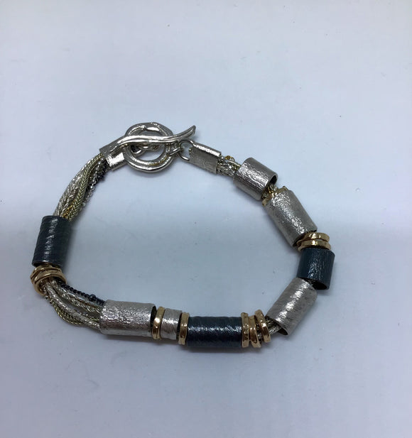 Smadar design multi chain bracelet