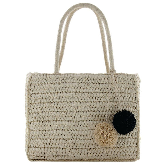 Gabee Coogee woven tote- Natural