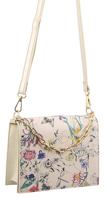Milleni small handbag - Spring Flowers