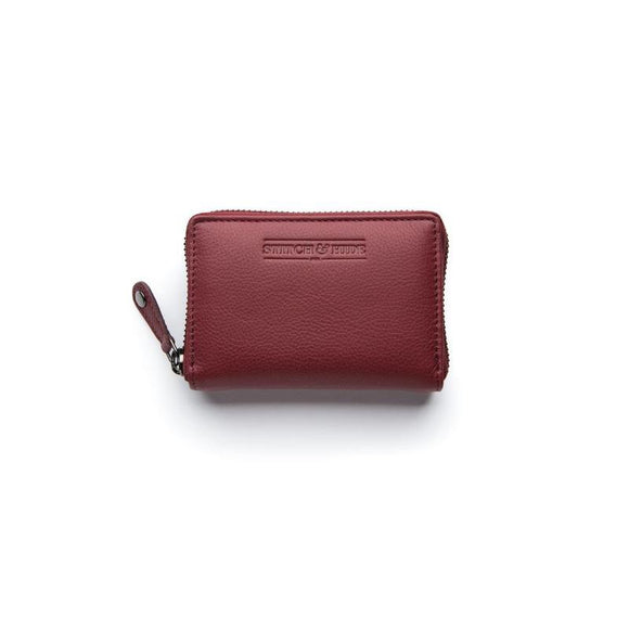 Stitch and Hide Hunter Card  Wallet - Cherry