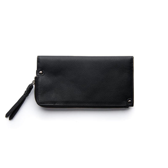 Stitch and Hide Penni Wallet - Black