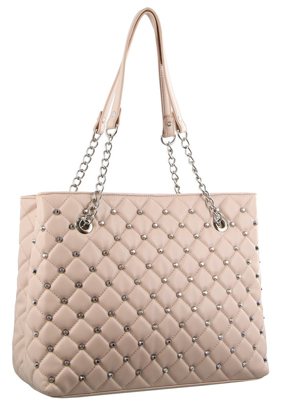 Milleni medium size handbag - Blush