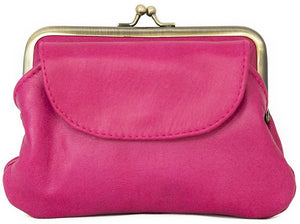Empire Of Bees Penny's Purse-Hot Pink