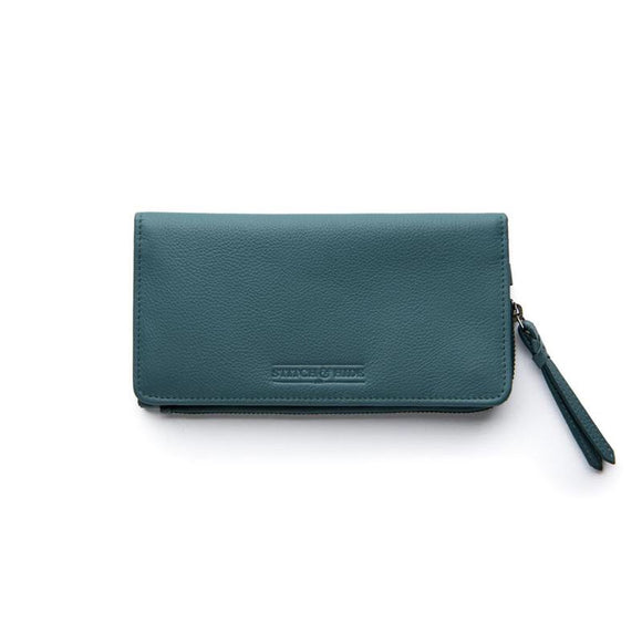 Stitch and Hide Penni Wallet - Teal