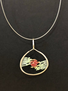 Aztec Jewellery Fire and Ice Necklace