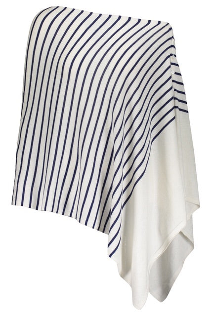 Esperance & Co Striped Poncho