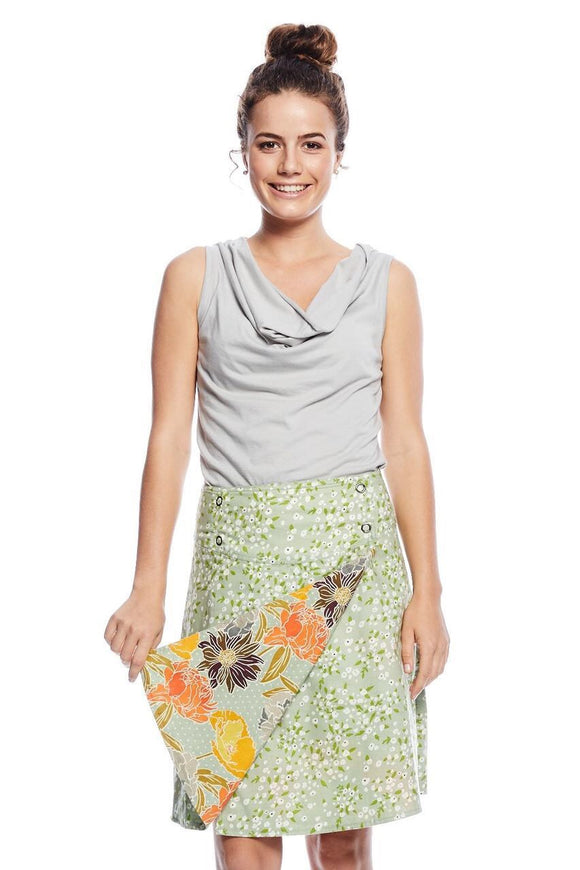Mahashe Reversible skirt - Meadow and Astar