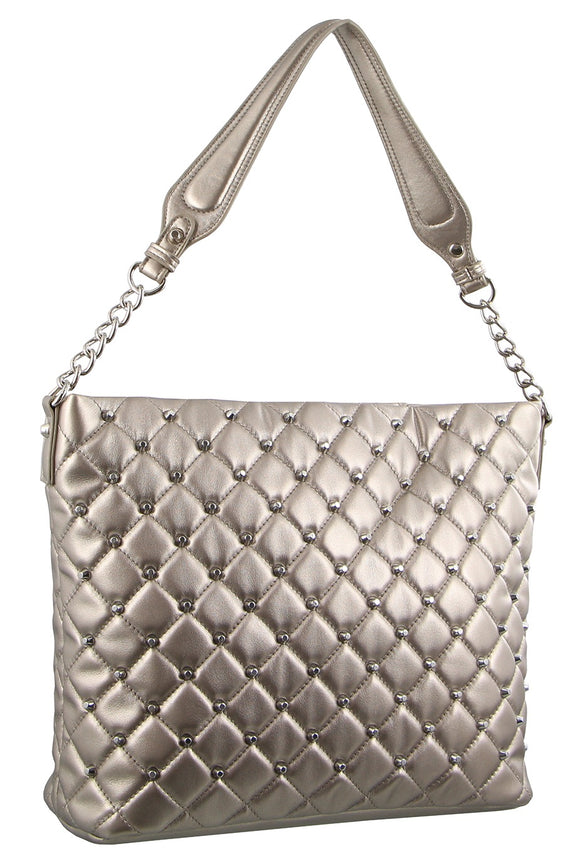 Milleni medium size handbag - Pewter