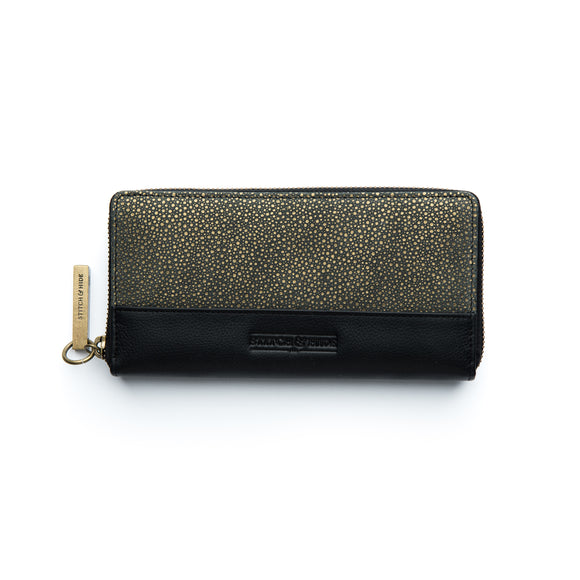 Stitch and Hide Christina  Wallet - Metallic