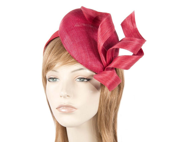 Fillies Collection pillbox and twist fascinator - Red