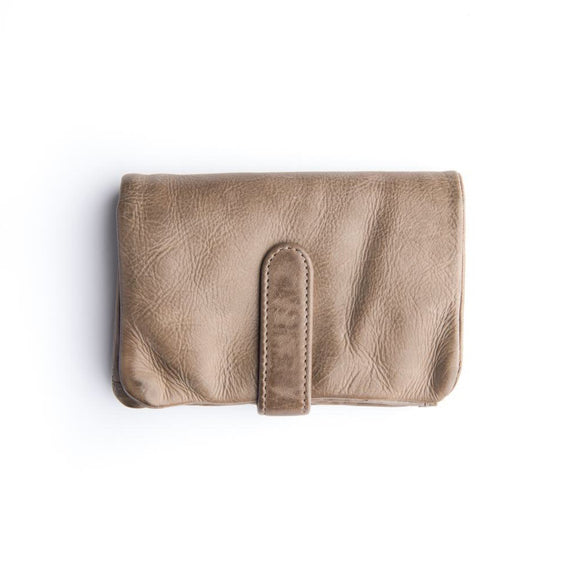 Stitch and Hide Newport Wallet - Taupe
