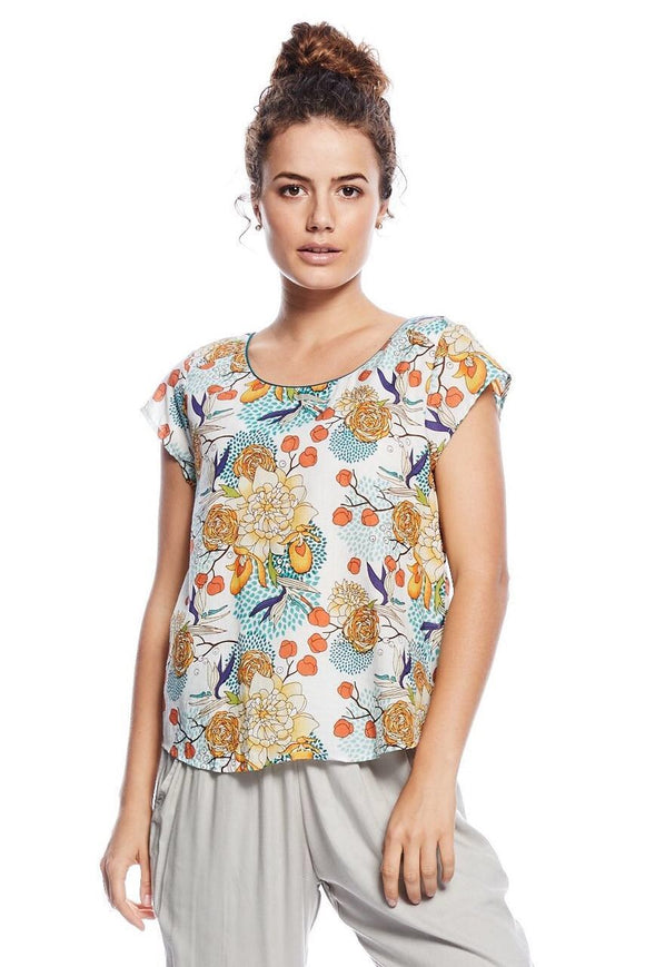 Mahashe Remi top - Blossom