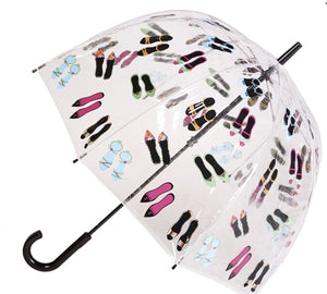 Clifton PVC Umbrella -High heels