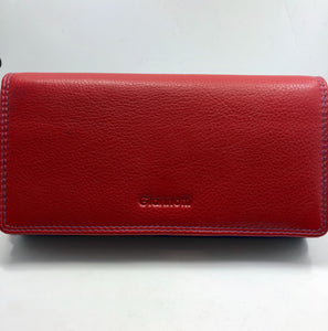 Gianotti leather  wallet- Multi colour Royal