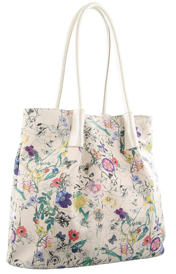 Milleni medium size handbag - Spring Flowers