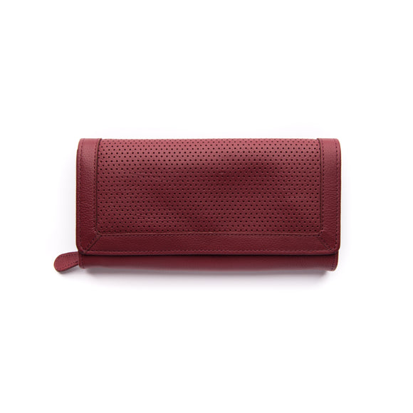 Stitch and Hide Chloe Wallet - Cherry
