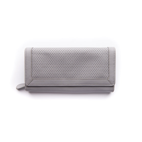 Stitch and Hide Chloe Wallet - Misty Grey
