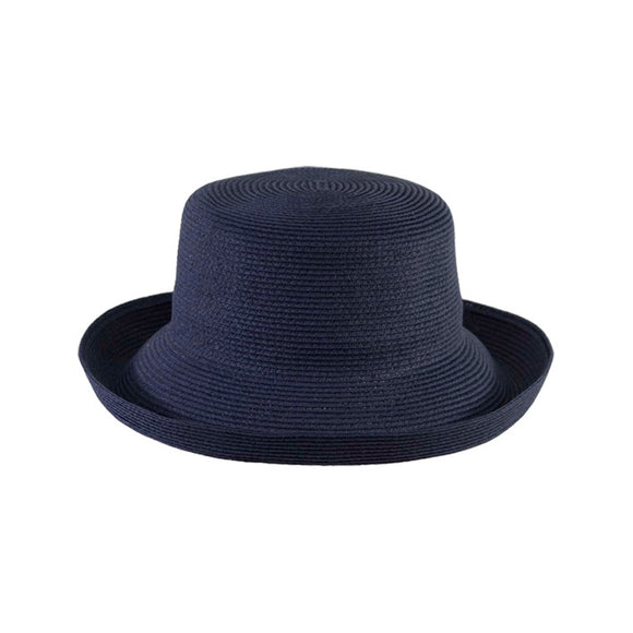 Jendi  upturned brim Navy