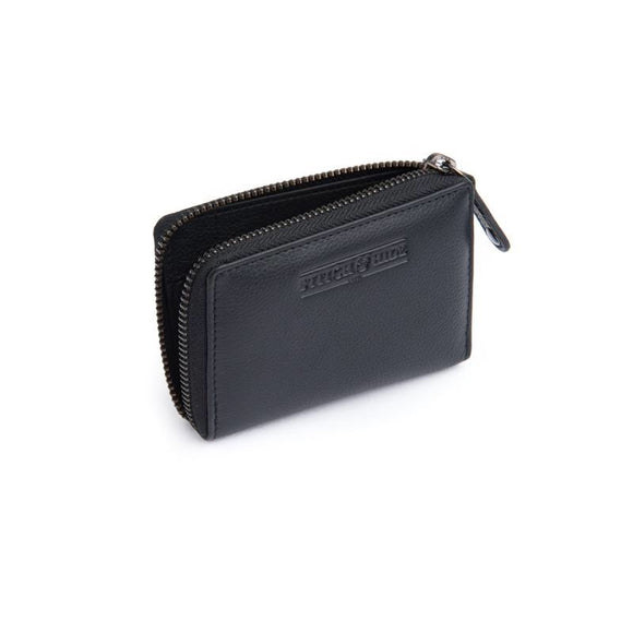 Stitch and Hide Hunter Card  Wallet - Black