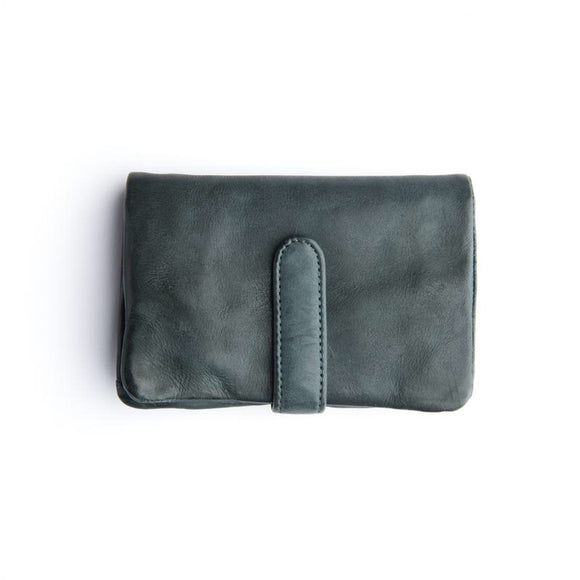 Stitch and Hide Newport Wallet - Petrol