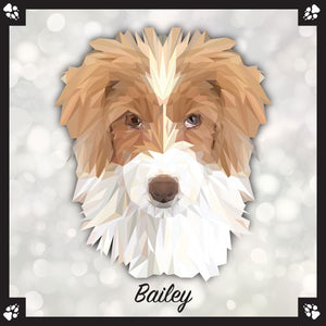 Goldendoodle - Breed Dog Portrait