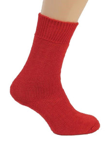 Mohair Walking Socks Red | The Scottish Company