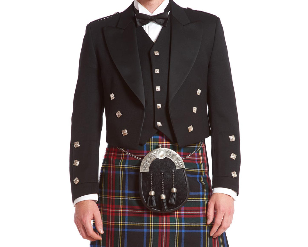 Prince Charlie Rental Jacket & 5-button Vest