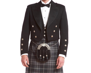 Prince Charlie Rental Jacket & 3-button Vest