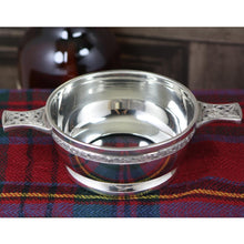 Bonnie Prince Charlie Quaich with glass bottom