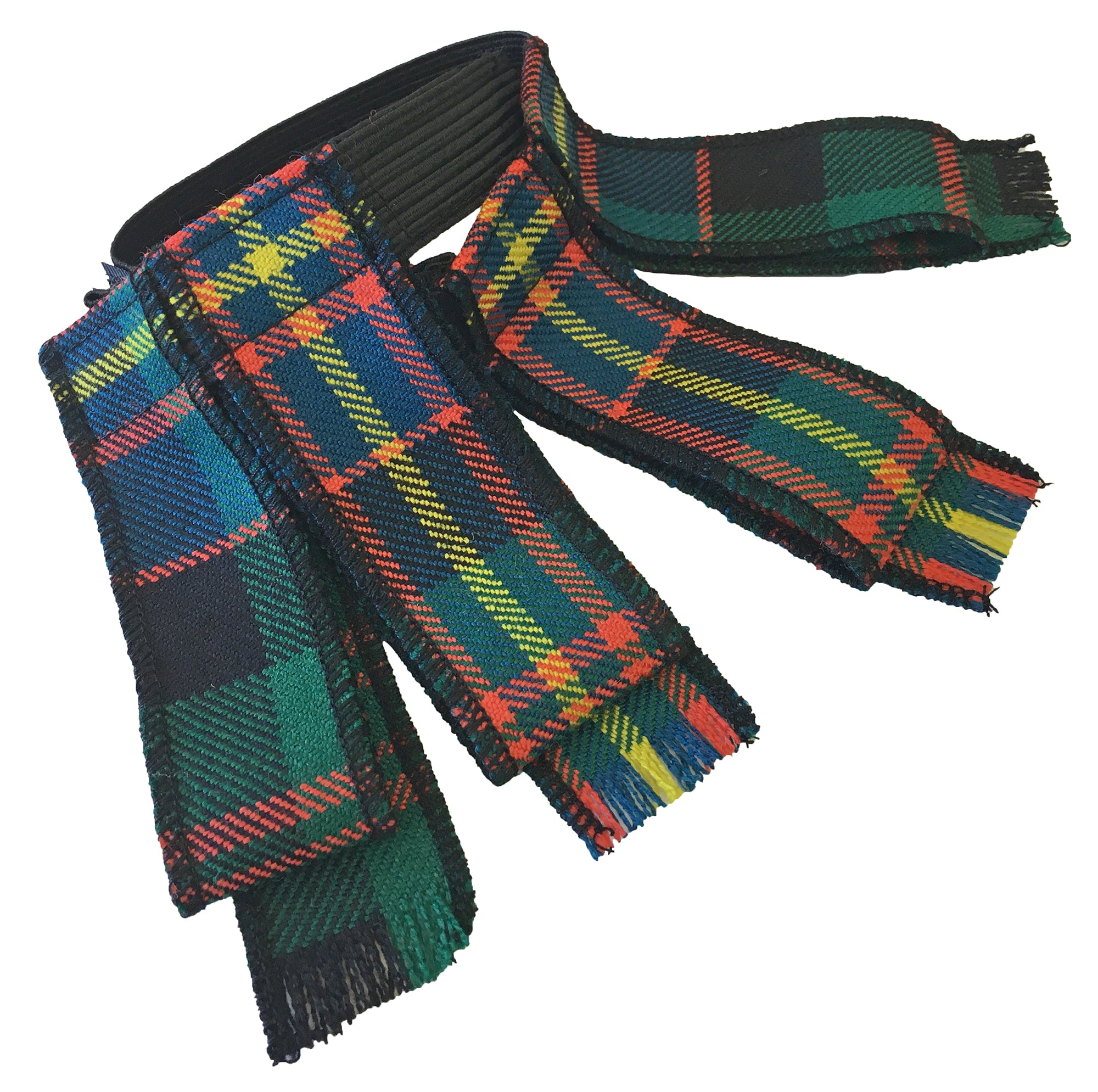 Custom Tartan Garter Flashes