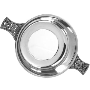 Polished Pewter Quaich | The Scottish Company