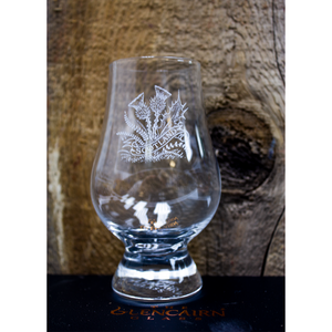 Glencairn | Thistle Engraved Whisky Glasses - Set of 4
