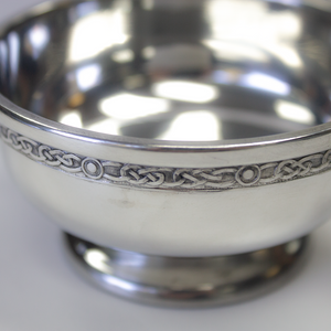 "3"" Thistle Pewter Quaich 