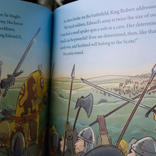 Robert The Bruce, The King & the Spider book | The Scottish Company | Toronto