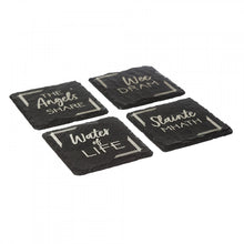 Coasters | 4 Slate Whisky Coasters