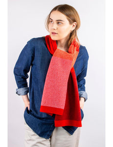 Collingwood Noriis Rum lambswool scarf | The Scottish Company