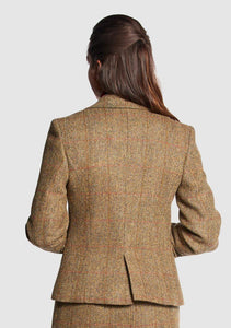 Bucktrout | Tammy Harris Tweed Cropped Jacket – Mustard
