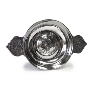 "4"" Pewter Loving Bowl 