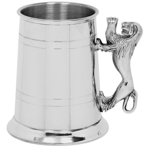 Tankard | Pewter Lion Handle