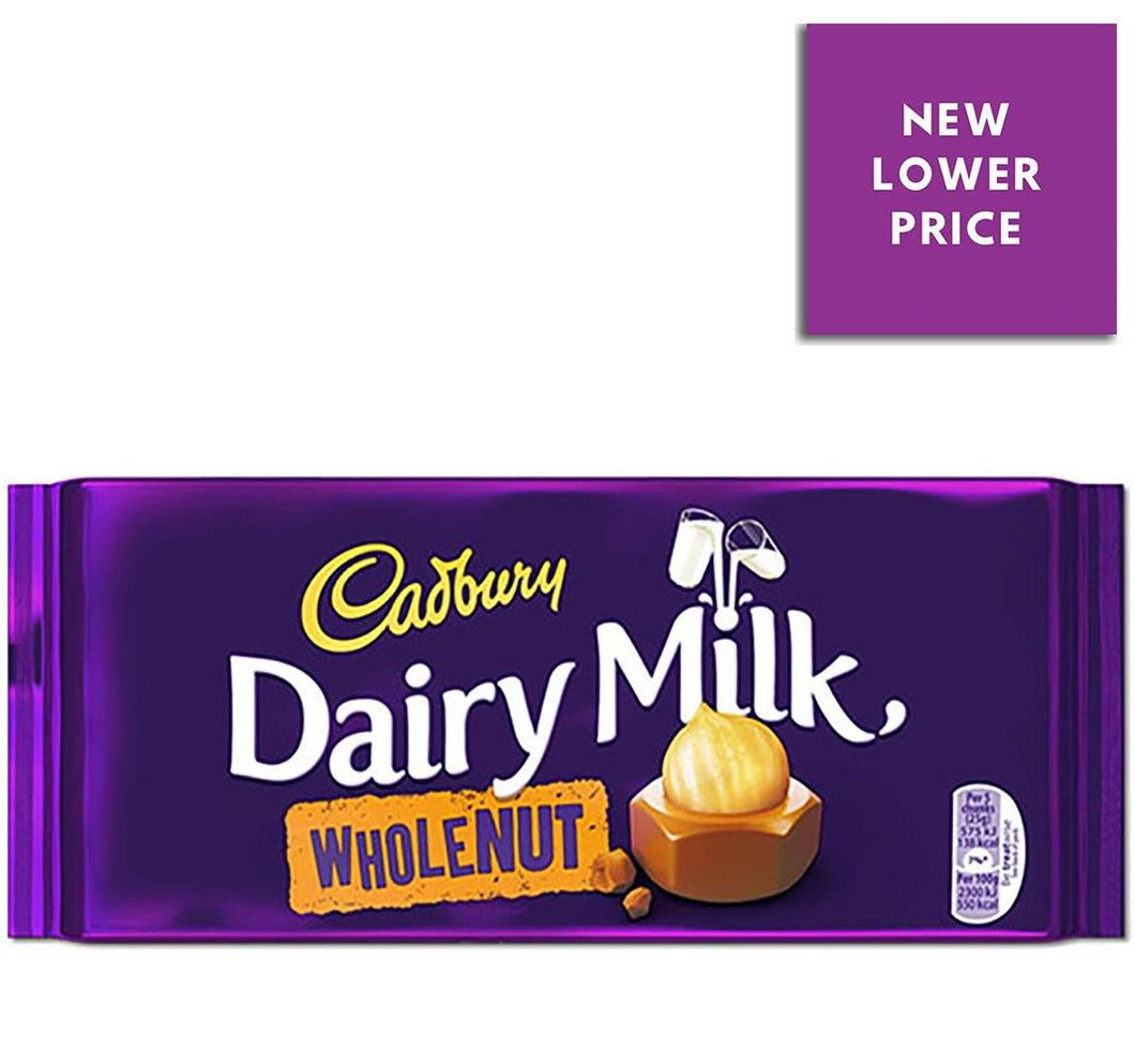 Cadbury | Dairy Milk Whole Nut Chocolate Bar
