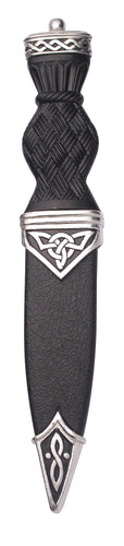 Sgian Dubh with Celtic design | The Scottish Company