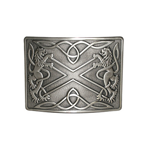 Belt Buckle | Saltire & Lion Rampant
